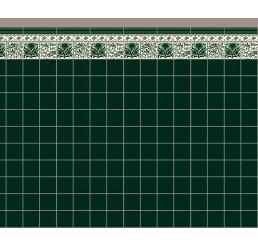 groen keuken behang formaat