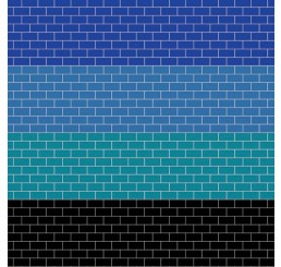 Coloured Metro Tiling