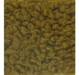 Teddypluche gekruld katoen goud bruin