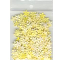 Decoratie bloemetjes 7mm geel