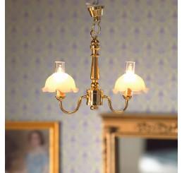 dubbele hangende plafond lamp