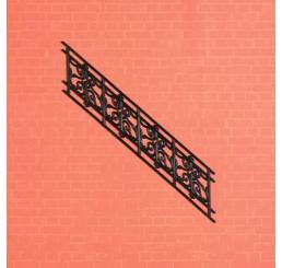 zwarte plastic railing