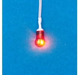 rood licht voor openhaard