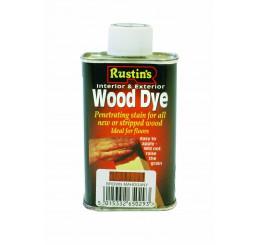 Rustins Houtbeits, bruin mahonie, 250 ml