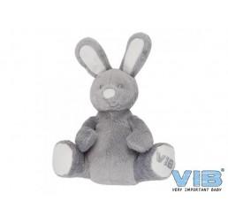 Pluche Konijn Zittend Very Important Rabbit Grijs