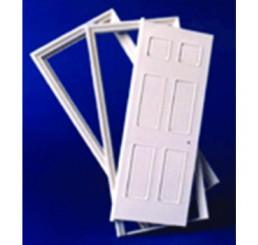 Georgiaanse binnendeur met 6 panelen