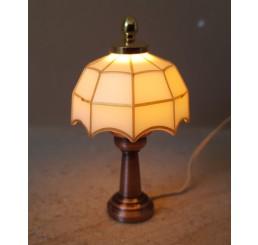 Tiffany Tafellamp, wit