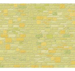 Steenpapier gele tinten