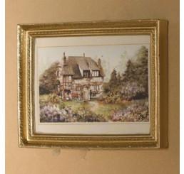 Landhuis schilderij