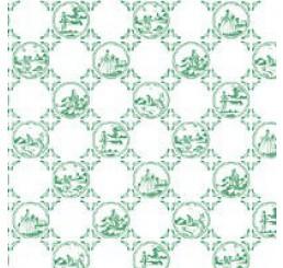 Behang Groen