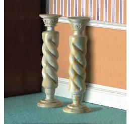 Gedraaide kolommen, 2 stuks