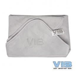 Badcape VIB Grijs+Zilver