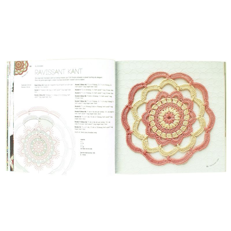Voorkeur Boek Mandala's haken | Hobbyboutique Monique &BS48
