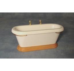 Bad met kant kranen