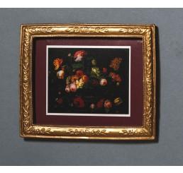 Schilderij van bloemen