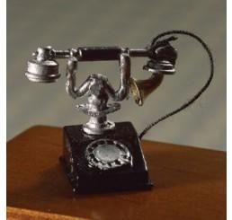 Telefoon zwart met zilver