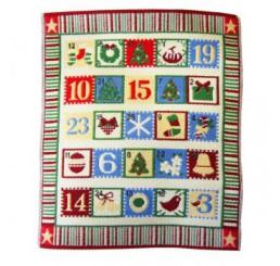 Decoratieve advent kalender