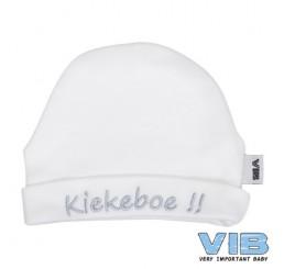 VIB muts-Kiekeboe wit