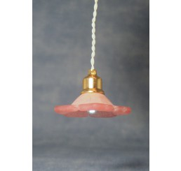 hanglamp roze daisy LED