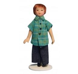 Moderne jongen in jeans