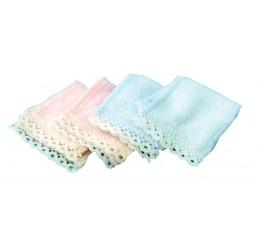 2 Roze & 2 Blauwe handdoeken