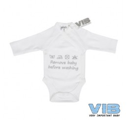 VIB Romper-Remove baby before washing
