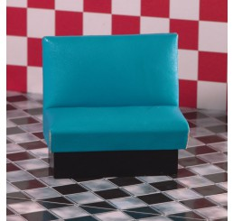 Turquoise cafe bank