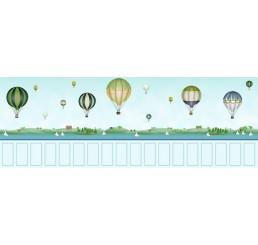 Behang balonnenmotief