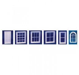 Victoriaans raam met 12 ruiten
