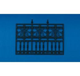 plastic railing 3 vakken