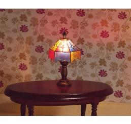 Gekleurde tiffany lamp