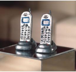 Draagbare telefoon, 2 stuks