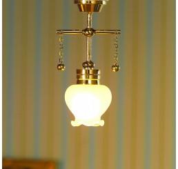 hanglamp met witglas