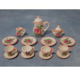Bloemen thee servies