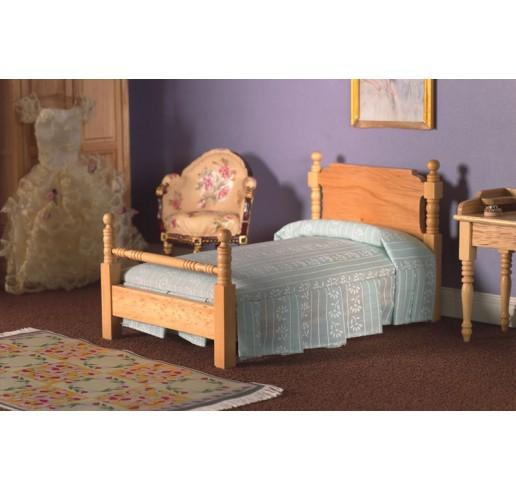 victoriaans 1 persoons bed