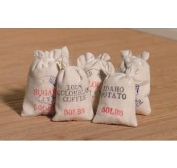 Zakken meel en graan, 6 stuks