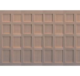 Houten panelen, 3 stuks