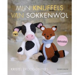 Boek Mijn knuffels van sokkenwol