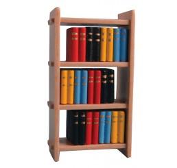 Boekenrek met boeken, modern