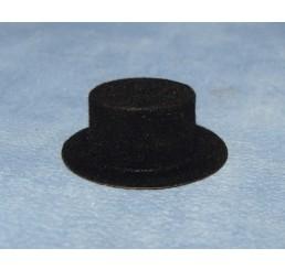 Zwarte hoed, 2 stuks