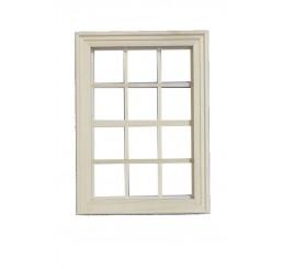 Houten raam, middenmaat