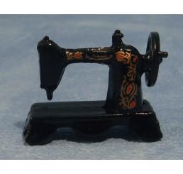Zwarte naaimachine