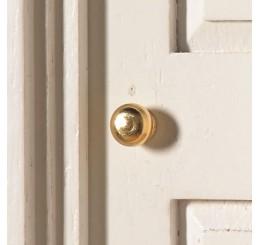 deurknop messing per 2