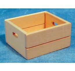 Krat, hout, met handvaten