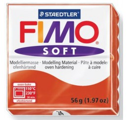 Fimo soft indisch-rood