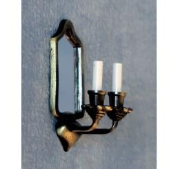 Kaarsenlamp met spiegel