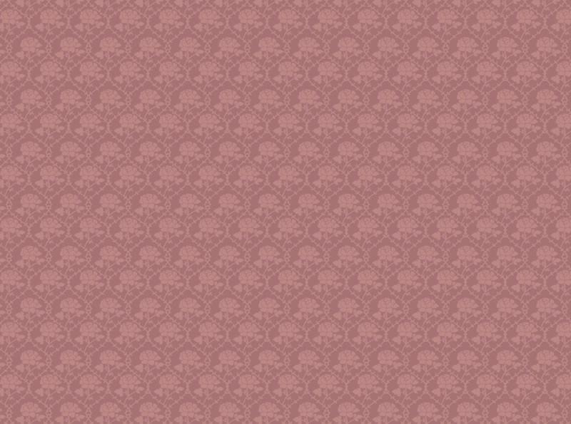 dolls house emporium 4507 oud roze bloemen behang c3b - Vilt Behang