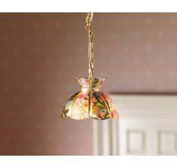 Hangende tiffany lamp