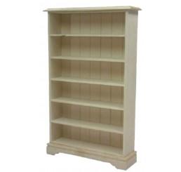 Boekenkast, blank hout