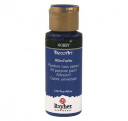 Decoart Royalblauw, flacon 59ml